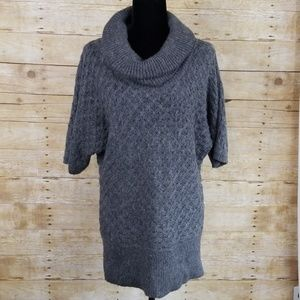 Old Navy Cowl Neck Tunic Fuzzy Sweater